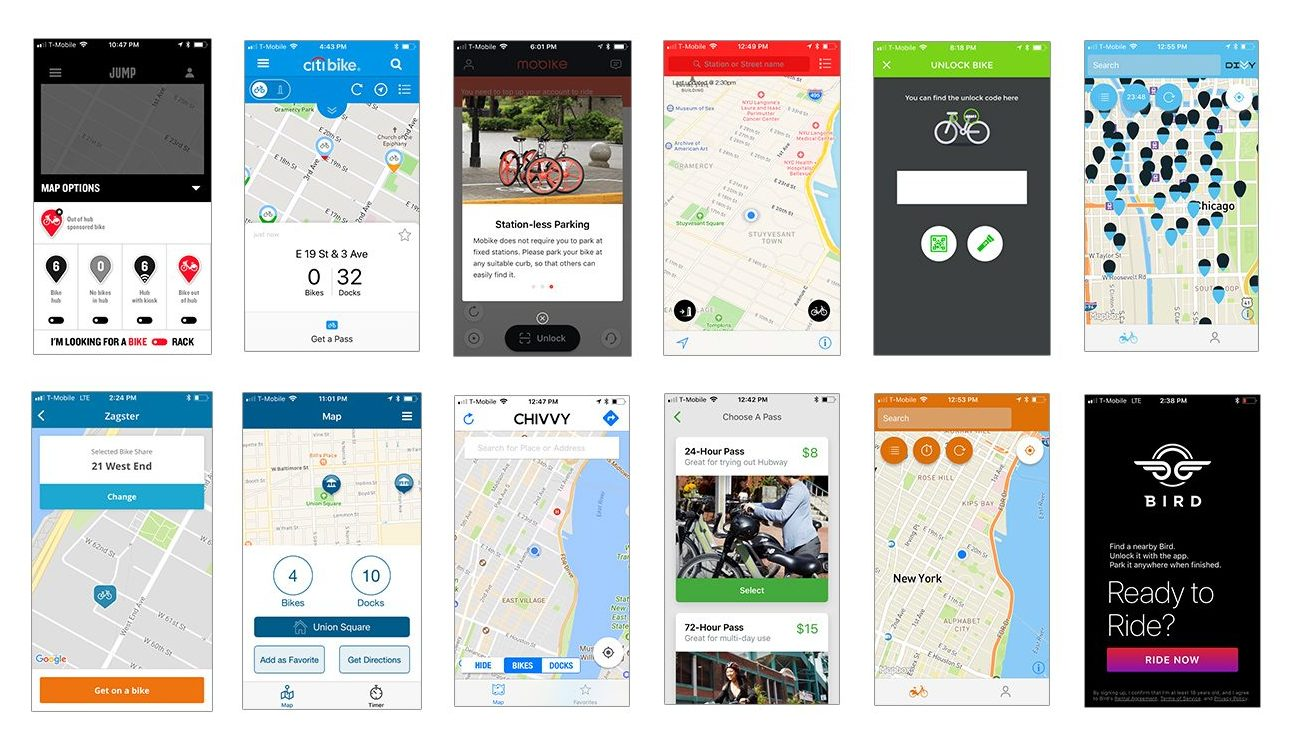 BikeNYC Research - Existing Apps