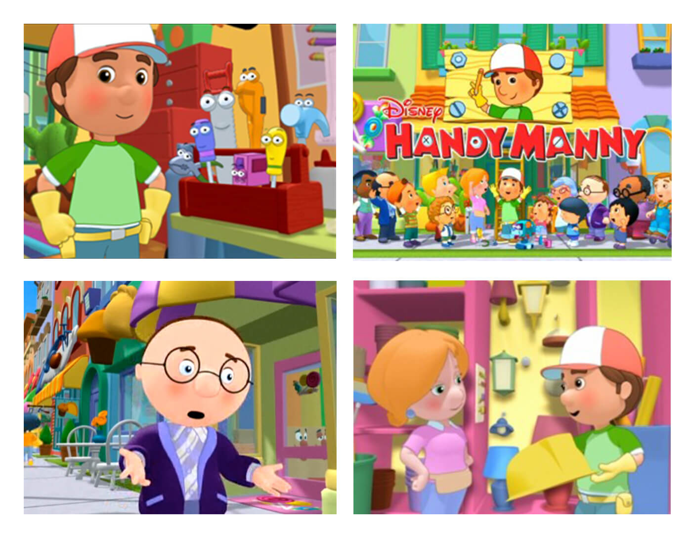 Handy Manny content research