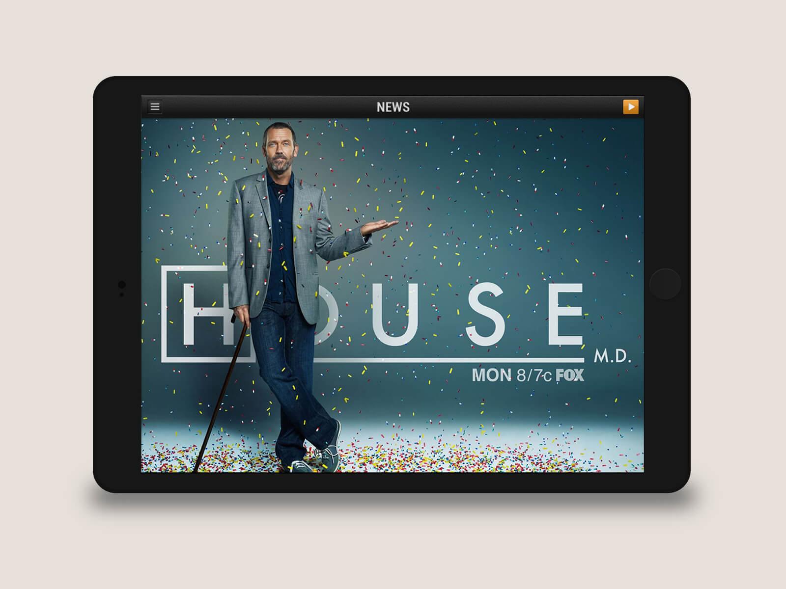 Townsquare Media - WYRK tablet ad
