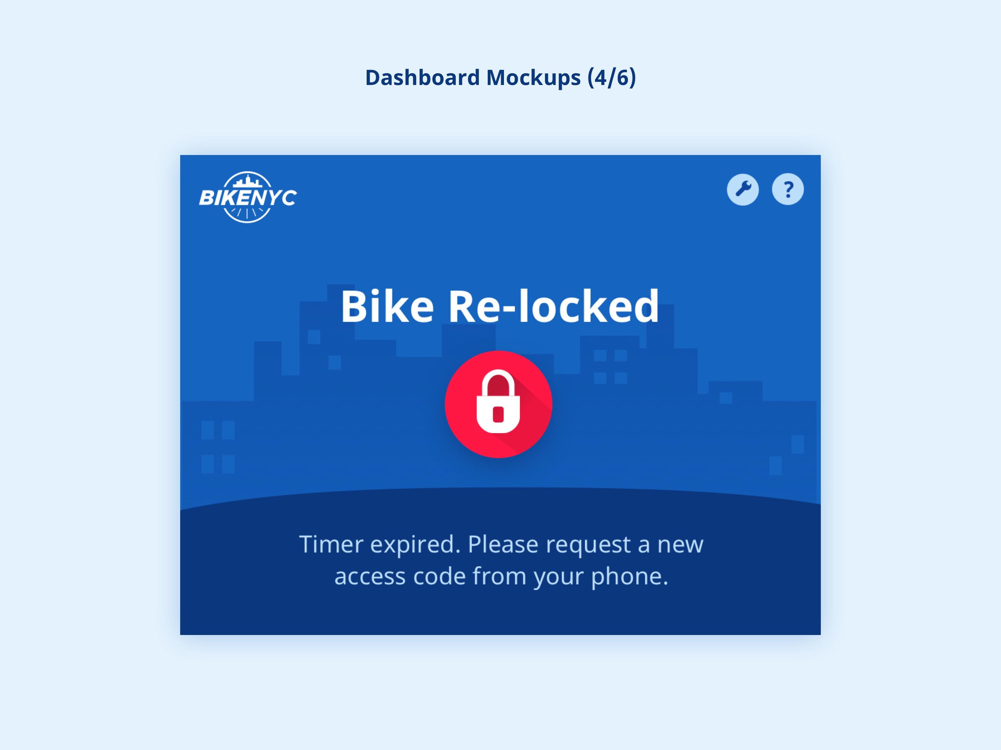 BikeNYC Dashboard - Re-locked