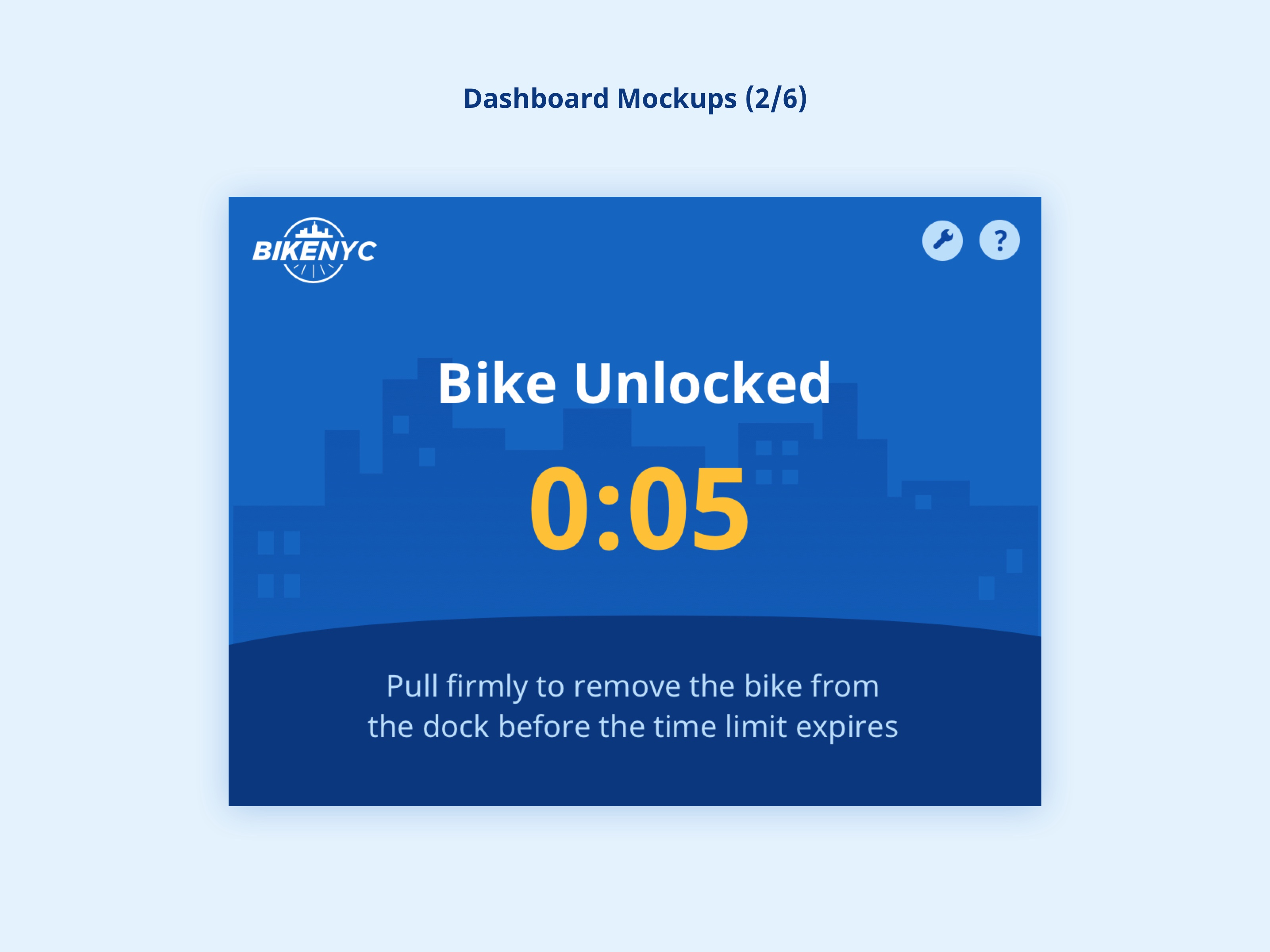 BikeNYC Dashboard - Unlocked
