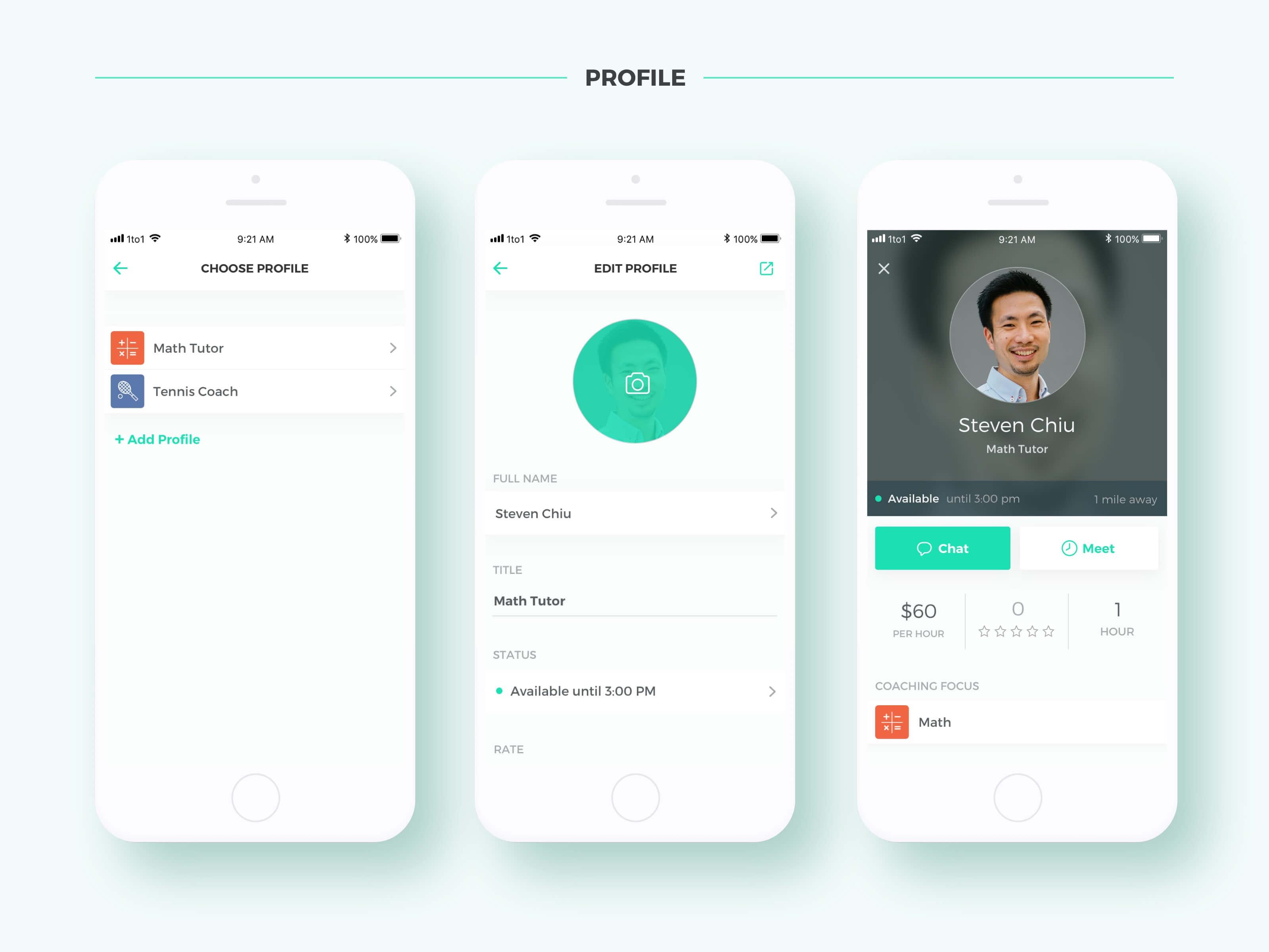 Coach+ Profile