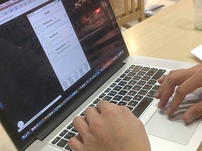 Coach+ Prototype User Testing - Laptop