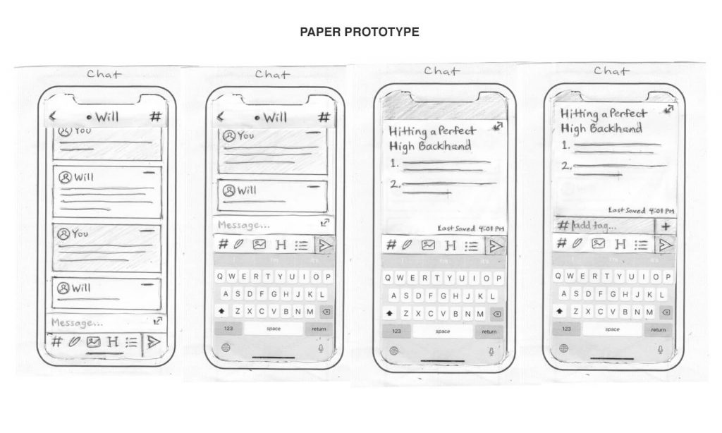 Paper Prototype (Chat)